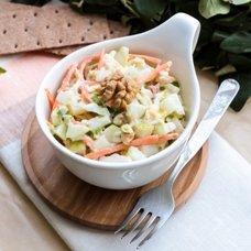 Французский салат с яблоками и морковью: рецепты