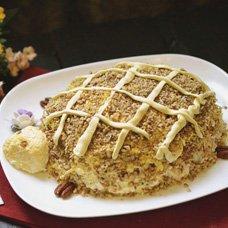 Салат «Черепаха» с курицей и грецкими орехами: рецепты