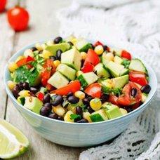 Салат из авокадо с огурцом: рецепты