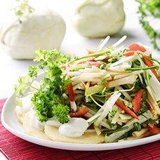 Салат из кольраби: рецепты