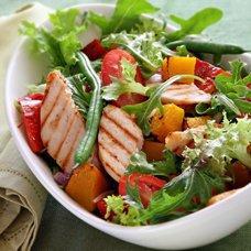 Салат из стручковой фасоли и курицы: рецепты