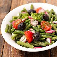 Салат из стручковой фасоли: рецепты