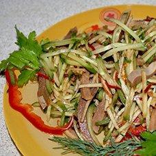 Рецепты салата из свиного языка