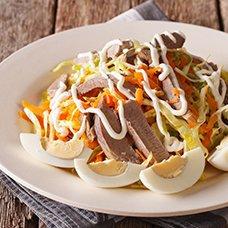 Салат из свиного сердца: рецепты