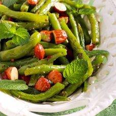 Салат из зеленой фасоли: рецепты