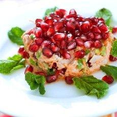 Салат «Красная шапочка» с гранатом: рецепты