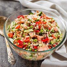 Салат «Красное море»: рецепты
