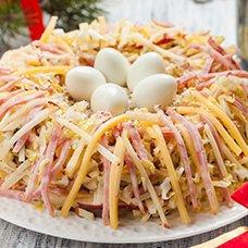 Салат «Ласточкино гнездо»: рецепты