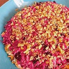Салат «Любовница» со свеклой и морковью: рецепты