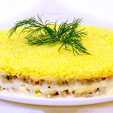 Салат «Мимоза» классический: рецепты