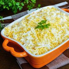 Салат «Мимоза» с сардиной: рецепты