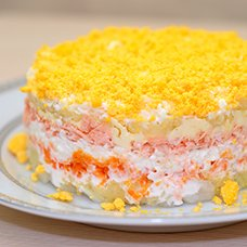 Салат «Мимоза» с тунцом: рецепты