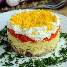 Салат «Мимоза» со шпротами: рецепты