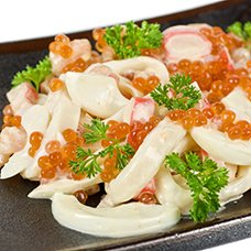 Салат «Морская жемчужина»: рецепты