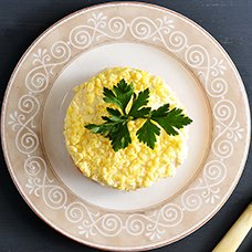 Салат «Невеста» с копченой курицей: рецепты