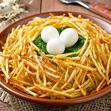 Салат «Перепелиное гнездо»: рецепты