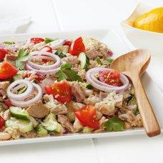 Салат с белой фасолью: рецепты