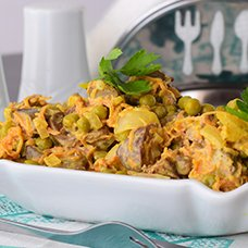 Салат с куриной печенью, луком и морковью: рецепты