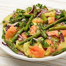 Салат со спаржей: рецепты