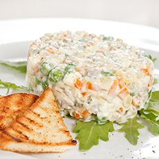 Салат «Столичный» классический: рецепты