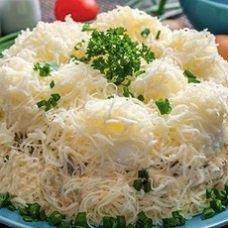 Салат «Сугробы»: рецепты