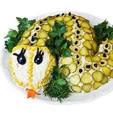 Салат «Змейка»: рецепты