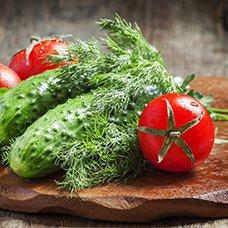 Салат из огурцов и помидоров на зиму: рецепты заготовки овощей