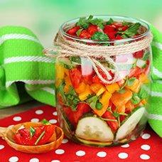 Салат на зиму из помидоров: рецепты домашних заготовок