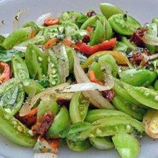 Салат из зеленых помидоров на зиму: рецепты домашних овощных заготовок