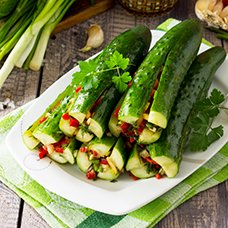 Салат «Огурцы по-корейски» на зиму: рецепт