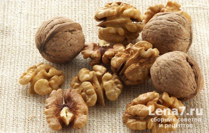 Как правильно хранить грецкие орехи: очищенные, в скорлупе, зеленые